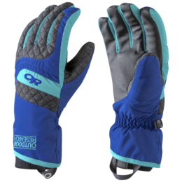 OR Women's Riot Gloves baltic/typhoon