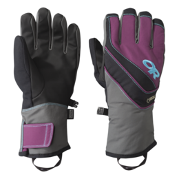 OR Women's Centurion Gloves charcoal/orchid/rio