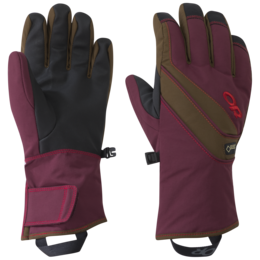 OR Women's Centurion Gloves zin/carob/tomato