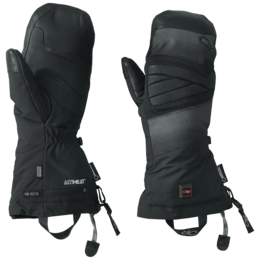 OR Lucent Heated Mitts black