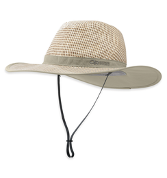 OR Papyrus Brim Sun Hat khaki/white