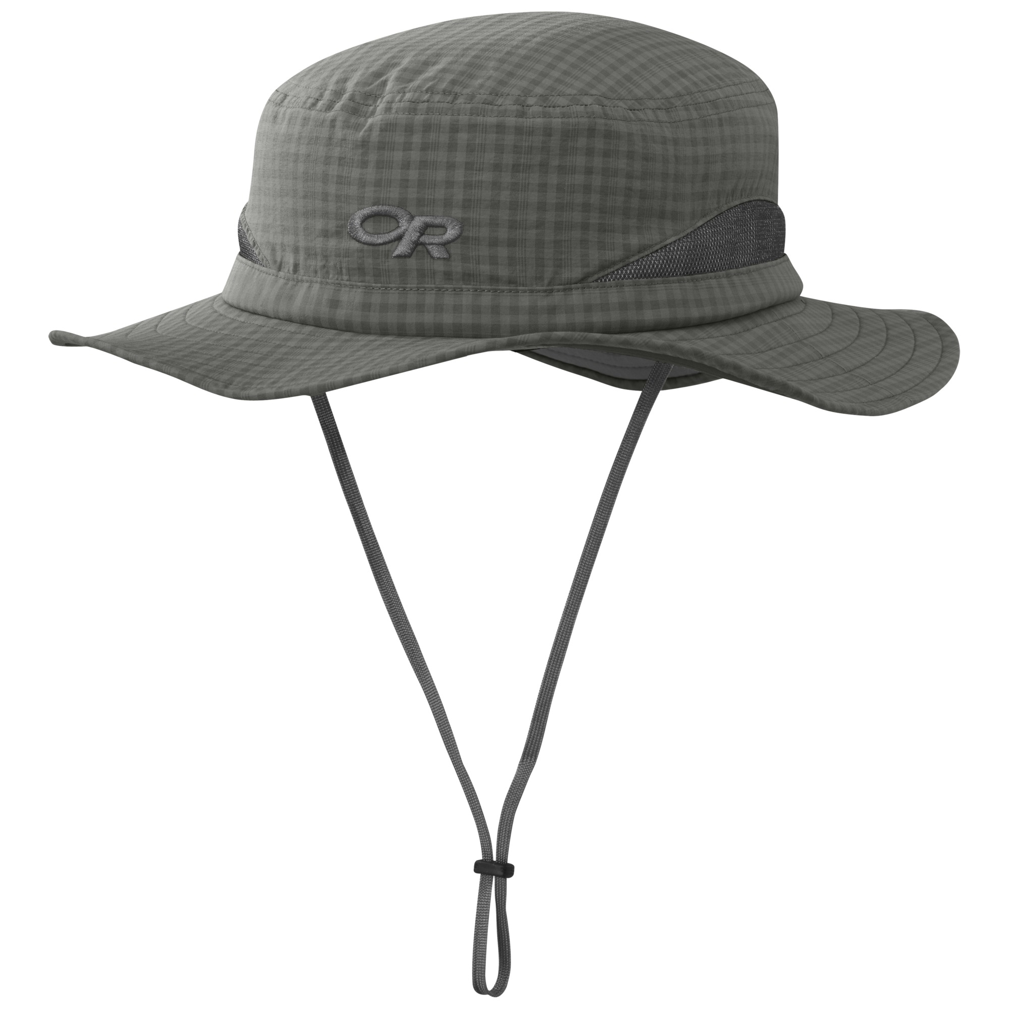 Sol Sun Hat - pewter check  df8efe286d24