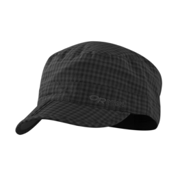 OR Radar Pocket Cap black check