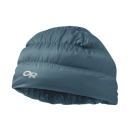 OR Transcendent Down Beanie prussian blue
