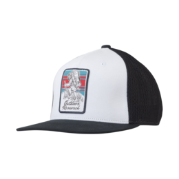 OR Squatchin' Trucker Cap white/black