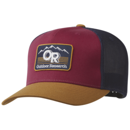 OR Advocate Trucker Cap curry/garnet