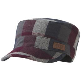OR Kettle Cap raisin plaid