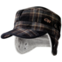 OR Yukon Cap naval blue plaid