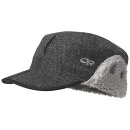 OR Yukon Cap charcoal herringbone