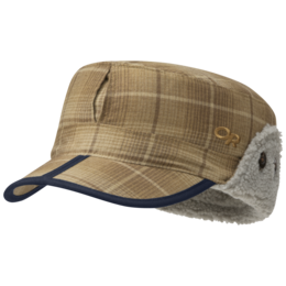 OR Yukon Cap carob plaid