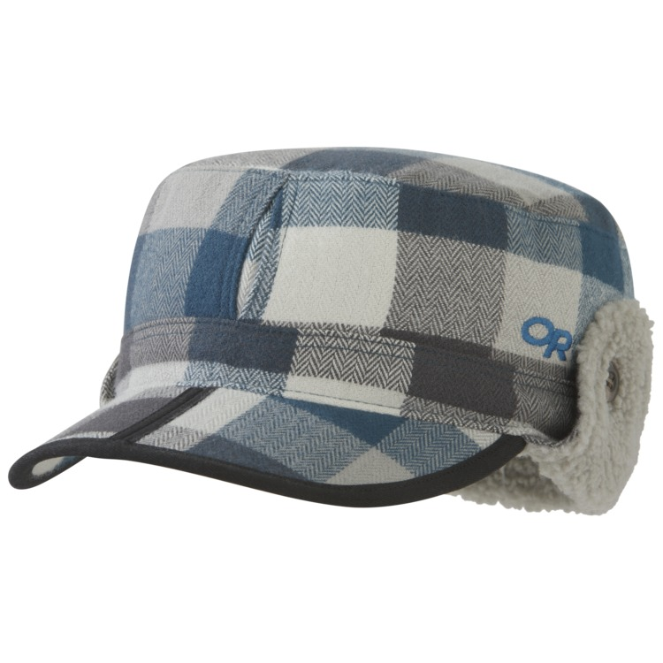 Yukon Cap Prussian Blue Plaid Outdoor Research