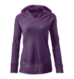OR Women's Echo Hoody elderberry/ultraviolet