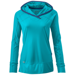 OR Women's Echo Hoody (S18) typhoon/baltic