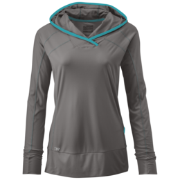 OR Women's Echo Hoody pewter/typhoon