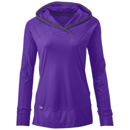 OR Women's Echo Hoody purple rain/charcoal