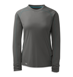 OR Women's Echo L/S Tee (F17) pewter