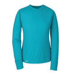 OR Women's Echo L/S Tee (F17) typhoon/night