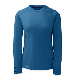 OR Women's Echo L/S Tee cornflower/night