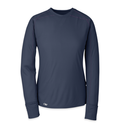 OR Women's Echo L/S Tee (F17) night/ultraviolet