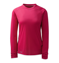 OR Women's Echo L/S Tee (F17) desert sunrise/paradise