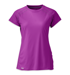 OR Women's Echo S/S Tee ultraviolet/elderberry