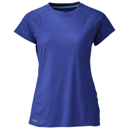 OR Women's Echo S/S Tee baltic/typhoon