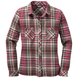 OR Women's Ceres L/S Shirt scarlet