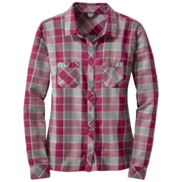 OR Women's Ceres L/S Shirt raspberry/pewter
