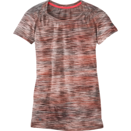 OR Women's Flyway S/S Shirt pinot/flame