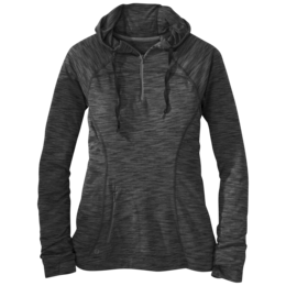 OR Women's Flyway Zip Hoody black/pewter