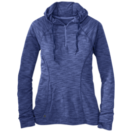 OR Women's Flyway Zip Hoody baltic/typhoon
