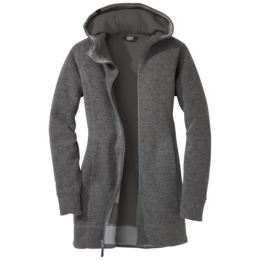 OR Women's Salida Long Hoody charcoal