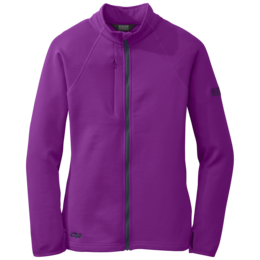 OR Women's Radiant Hybrid Jacket ultraviolet/night