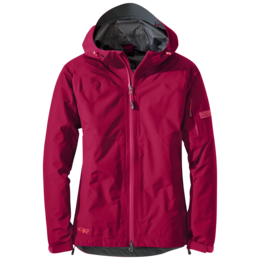 OR Women's Aspire Jacket scarlet