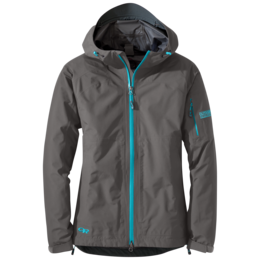 OR Women's Aspire Jacket (S18) pewter/typhoon