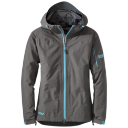 OR Women's Aspire Jacket pewter/typhoon