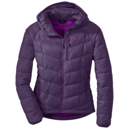 OR Women's Sonata Hooded Down Jacket elderberry