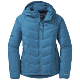 OR Women's Sonata Hooded Down Jacket oasis/night