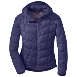 OR Women's Sonata Hooded Down Jacket blue violet/fig