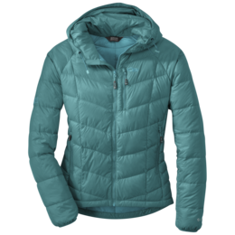OR Women's Sonata Hooded Down Jacket atlantis/sea