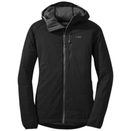 OR Women's Uberlayer Hooded Jacket black