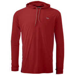 OR Men's Echo Hoody tomato/pewter