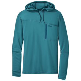 OR Men's Ensenada Sun Hoody washed peacock