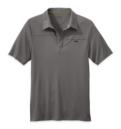 OR Men's Sequence Polo pewter/ember