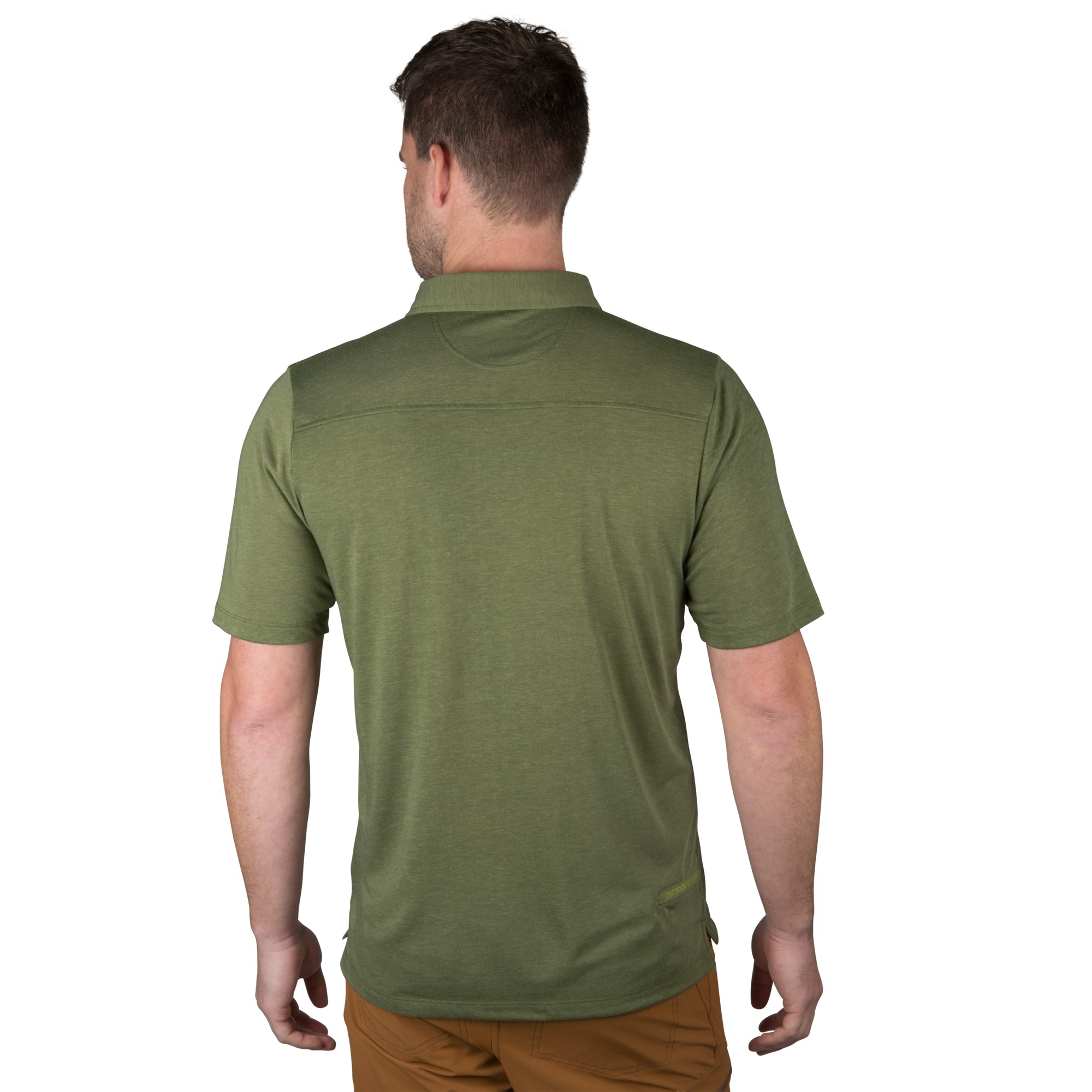 Mens Sequence Ss Polo Pewter Outdoor Research
