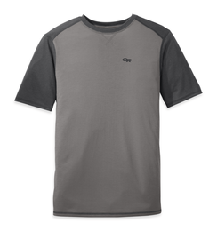 OR Men's Sequence Duo Tee pewter/charcoal
