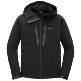 OR Men's Ferrosi Summit Hooded Jacket black