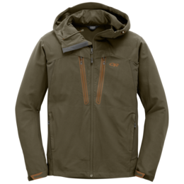 OR Men's Ferrosi Summit Hooded Jacket fatigue