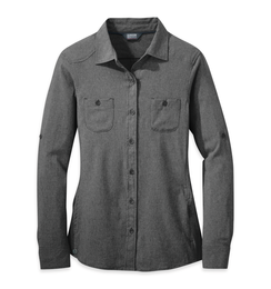 OR Women's Reflection L/S Shirt charcoal