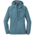 OR Women's Whirlwind Hoody washed peacock